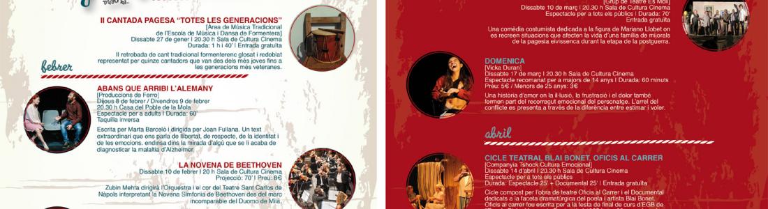 L'illa en escena – opera, teatro y espectaculos de Enero a Abril